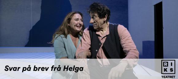 Riksteatret: Svar på brev frå Helga