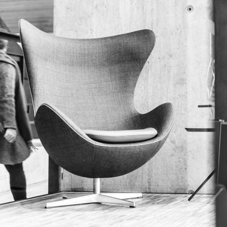 Lesestol på Biblioteket Foto: Jens Haugen