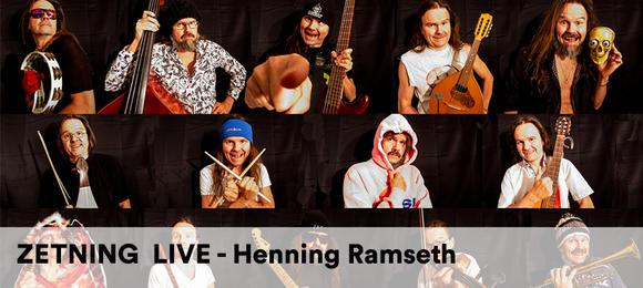 ZETNING LIVE - med Henning Ramseth