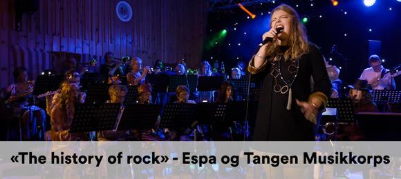 «The history of rock» (best of 50-90) - Espa og Tangen Musikkorps