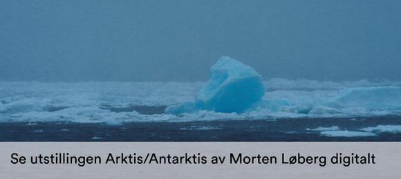Arktis/Antarktis, en digital visening av Morten Løbergs utstilling