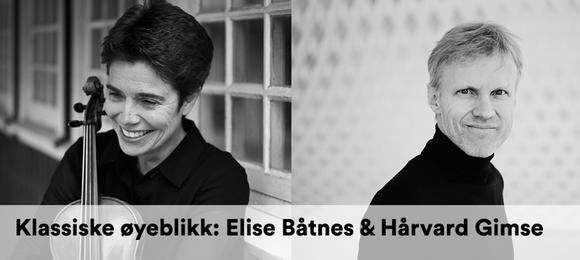 Klassiske øyeblikk: Elise Båtnes og Håvard Gimse