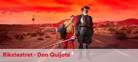 Don Quijote til Kulturhuset lørdag 6. november