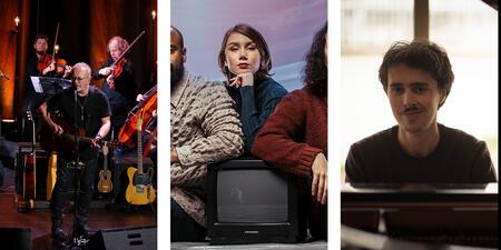 Tre nye store konserter på programmet