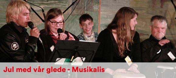 Jul med vår glede - Musikalis