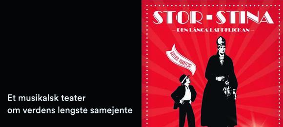 Stor-Stina - et gjestespill fra Åarjelhsamien Teatere