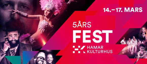 5-årsfest i Kulturhuset