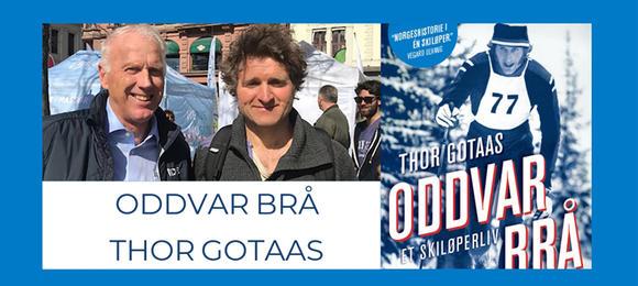 Oddvar Brå og Thor Gotaas - i samtale